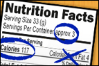 The Future of Nutrition Labels