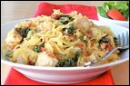 Creamy Kale Spaghetti Squash Recipe