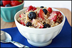 Fruity Quinoa B-fast Recipe