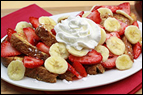 Banana-Berry French Toast Recipe