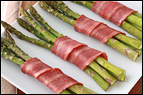 2-Ingredient Bacon-Wrapped Asparagus Recipe