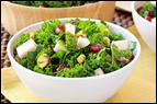 Pomegranate Kale Salad Recipe