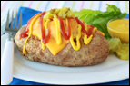 Cheeseburger-Stuffed Potato Recipe