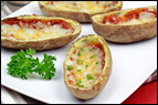 3-Ingredient Potato Skins Recipe