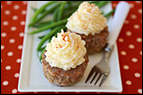 Mashie-Topped Meatloaf Cupcakes