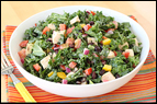 Chicken & Kale Salad Recipe
