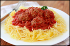 Spaghetti & Meatless Meatballs