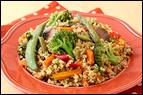 Veggie-Quinoa Stir-Fry