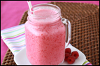 Coconut Raspberry Smoothie