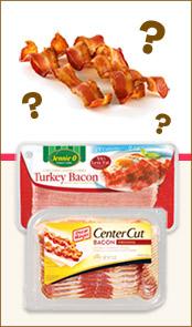 turkey bacon vs center cut bacon plus bar night survival tips