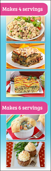 Healthy Multi-Serving Meals