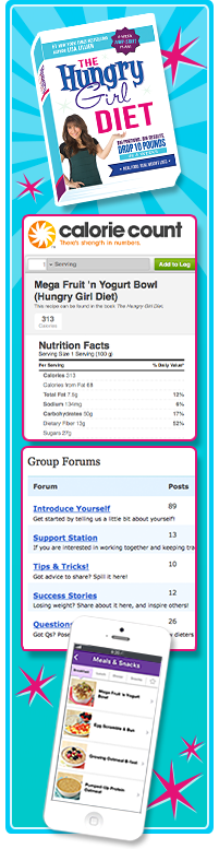 The Hungry Girl Diet Community on Calorie Count