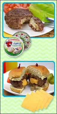 Hungry Girl's Stuffed Burgers