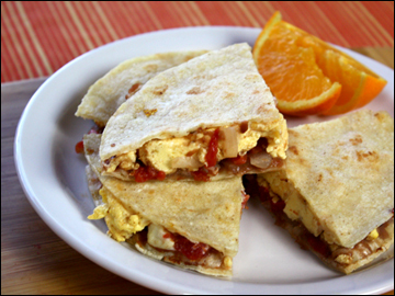 "Quesadillas ""Benedict"" Recipes — Dishmaps"
