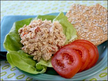 300 recipes under 300 calories for Tuna fish salad calories
