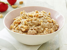 Healthy Peanut Butter Crunch Growing Oatmeal Recipe