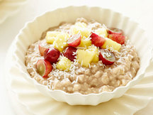 Healthy Fruity Coconut Growing Oatmeal Recipe