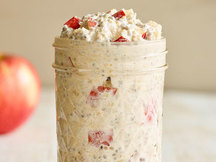 Healthy Apple Chia Overnight Oats Recipe