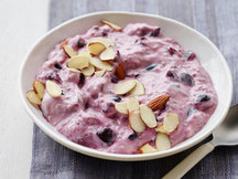 Healthy Cherry-Vanilla Super Yogurt Recipe
