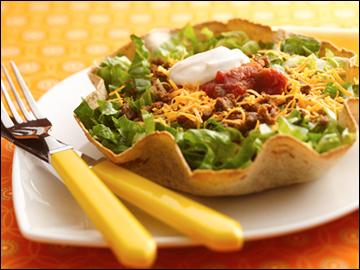 taco salad qu in o a taco salad this vegan taco salad in a taco salad ...