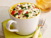 Healthy Mediterranean Egg Mug Recipe