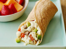 Healthy California Breakfast Burrito Recipe