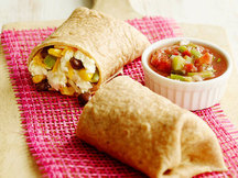 Healthy Mexican Breakfast Burrito Recipe