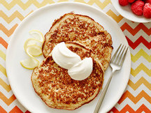 Healthy Lemon Ricotta Pancakes Recipe