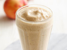 Healthy Peach Cobbler Smoothie Recipe