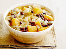 Healthy Black Bean & Butternut Soup Recipe