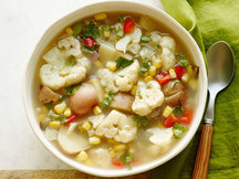 Healthy Cauliflower & Corn Soup Recipe