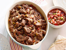 Healthy Slow-Cooker Beef Barbacoa Recipe