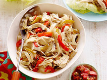 Healthy Slow-Cooker Chicken Fajitas Recipe