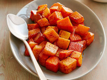 Healthy Spicy Sweet Potato 'n Squash Recipe
