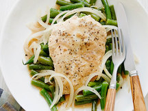 Healthy Peanut Chicken with Green Beans Recipe