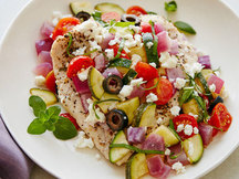 Healthy Mediterranean Chicken Recipe