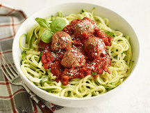 Healthy Z'paghetti & Meatballs Recipe