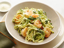 Healthy Shrimp & Avocado Z'paghetti Recipe