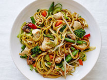 Healthy Chicken Zucchini So Low Mein Recipe