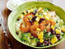 Healthy Island Shrimp Cauliflower Rice Bowl Recipe