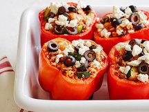 Healthy Greek Stuffed Peppers Recipe