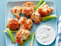 Healthy Big Buffalo Cauliflower Bites Recipe