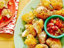 Healthy Mega Mexican Cauliflower Bites Recipe