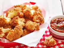 Healthy Big BBQ Cauliflower Bites Recipe