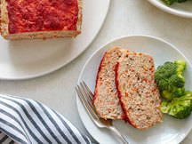 Healthy Buffalo Turkey Meatloaf Recipe