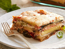 Healthy No-Noodle Veggie Lasagna Recipe