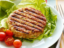Healthy Falafel Burgers Recipe