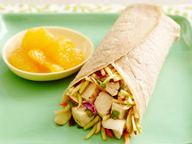 Healthy Chinese Chicken Salad Wrap Recipe