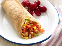 Healthy BBQ Chicken Wrap Recipe