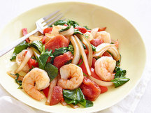 Healthy Sweet Tomato Shrimp Stir-Fry Recipe